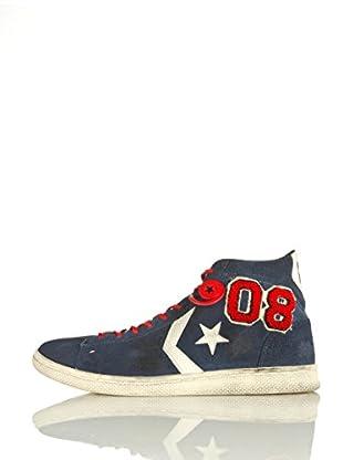 Converse Zapatillas Pro Leat Lp Mid Suede Vars Ltd (Azul / Rojo)