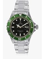 W Tw1005grp Transparent/Black Analog Watch Toy Watch