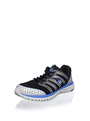 K-SWISS Men's Blade-Light Running Shoe (Black/Blue/Silver)