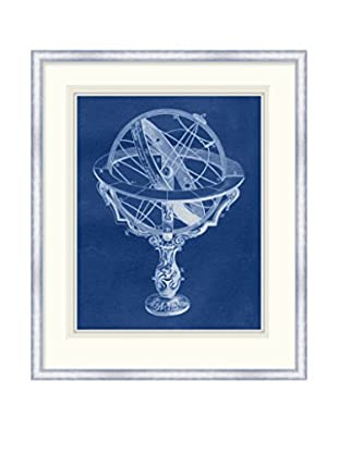 Surya Office Globe Framed Wall Décor, Multi, 40