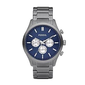 Fossil Designer Chronograph Blue Dial Men's Watch FS4631