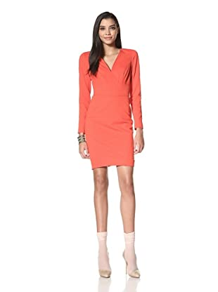 Z Spoke Zac Posen Women's Long Sleeve Dress (Ox Blood)