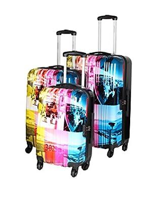 Travel World Set de 3 trolleys rígidos SKI