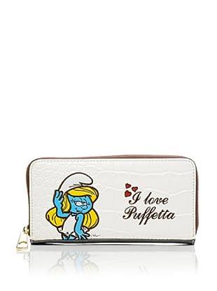 Hoy Collection Portafoglio Priscilla Puffi (Bianco)