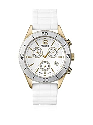 TIMEX Reloj de cuarzo Woman Chronograph Blanco 41 mm