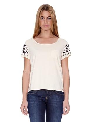 Pepe Jeans London Camiseta Alice (Crema)