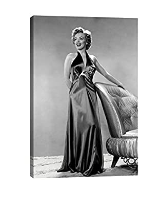 Retro Images Pose Of Beauty Archive Giclée on Canvas
