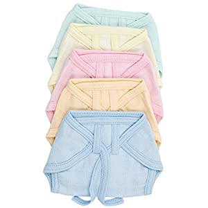 Baby Muslin Nappy - Assorted, New Born