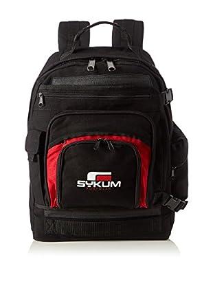 Sykum Mochila Sykum Backpack Blk Red