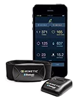 Kinetic inRide Watt Meter with Heart Rate Monitor System, Black