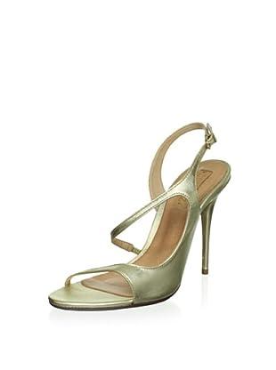 Schutz Women's Stiletto Sandal (Light Gold)