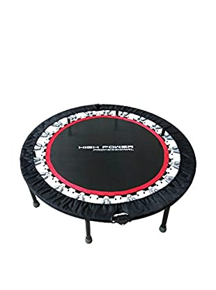 High Power Professional Trampolino Pro Rebound Nero/Rosso