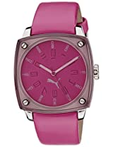 Puma Analog Pink Dial Women's Watch - PU102592002