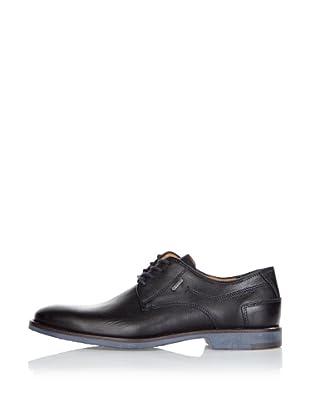 Fretz Men Zapatos Randolph (Negro / Azul)