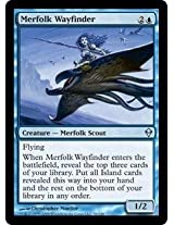 Magic: the Gathering - Merfolk Wayfinder (56) - Zendikar - Foil by Wizards of the Coast