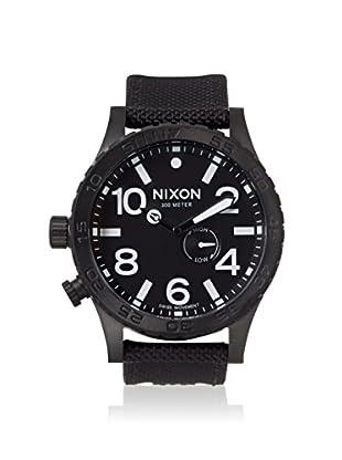Nixon Men's A057-1148 The 51-30 Tide Black Nylon Watch