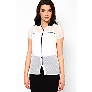 Short Sleeve Off White Shirt