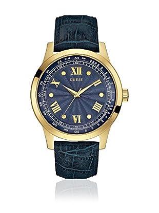 Guess Uhr mit japanischem Mechanikuhrwerk Man Monogram Gold Tone goldfarben 45 mm