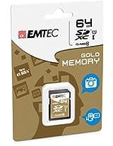EMTEC 64 GB Class 10 Jumbo Ultra SDXC Memory Card