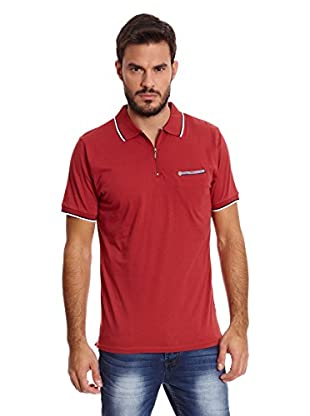 Paul Stragas Polo Owen (Rojo Oscuro)