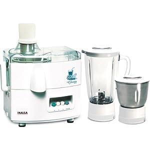 Inalsa Gloria 450-Watt Juicer Mixer Grinder