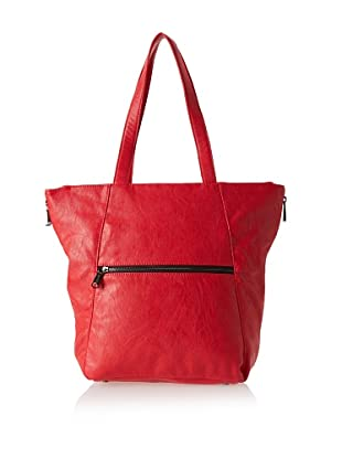 co-lab by Christopher Kon Women's Amaya Large Tote, Red, One Size