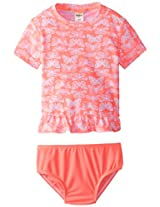 Osh Kosh Baby-Girls Infant Butterfly Rashguard Swim Set