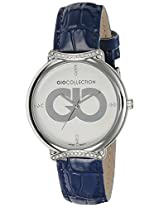 Gio Collection Analog Blue Dial Women's Watch - G0051-02