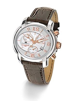 Philip Watch Quarzuhr Anniversary braun 42  mm