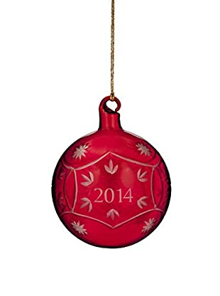 Marquis by Waterford Annual Ball 2014 Ornament, Red