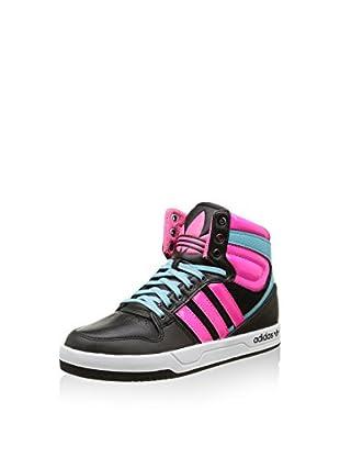 ADIDAS Hightop Sneaker Court Attitude Cuir Jr