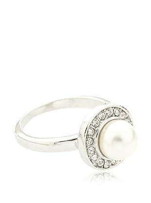 Vip de Luxe Anillo Lady Perla Blanca