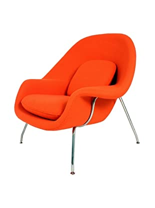 Control Brand The Womb Chair, Orange
