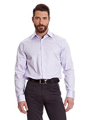 Macson Camisa Hombre Vestir Lisa Saten