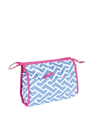Malabar Bay Molly Cosmetic Bag, Blue
