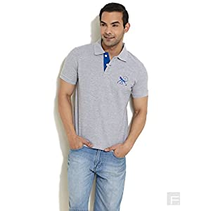 50 Shades Of Summer Polo T-Shirt -Light Grey-M