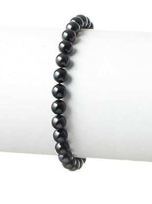 Radiance Pearl 6.0-6.5mm Black Akoya Pearl Bracelet