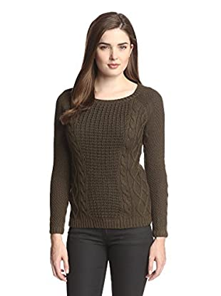 Greylin Women's Cable Detail Sweater