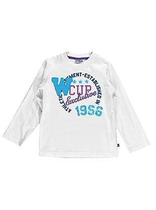 Camiseta Stampata (Blanco)