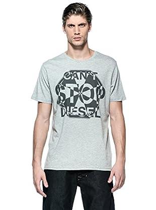 Diesel Camiseta T-Khanjarli-R (Gris)