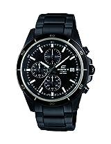 Casio Edifice Chronograph Black Dial Men's Watch - EFR-526BK-1A1VUDF (EX206)