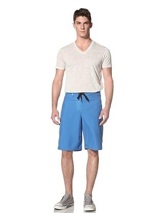 Two Thirds Men's Custom Shorts (Directoire Blue)
