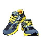 Livia545 GrayYellow Sport Shoes