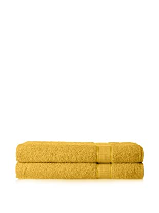 Espalma Set of 2 Ambassador Bath Sheets (Lemon Drop)