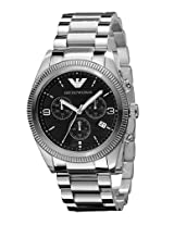 Emporio Armani Analog Black Dial Men's Watch - AR5897
