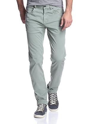 Union Jeans Men's Slim 5 Pocket Pant (Olivine)