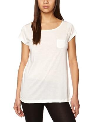 Princess Tam Tam  Camiseta de Manga Corta Latte (Blanco)