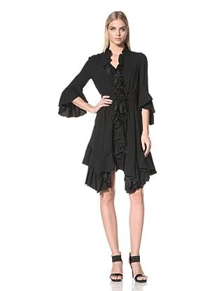 ALTUZARRA Women's Flutter Day Dress (Black)