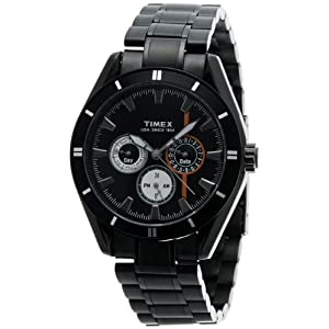 Timex E-Class Chronograph Analog Black Dial Men's Watch - NO12