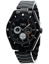 Timex E Class Chronograph Analog Black Dial Men's Watch - NO12
